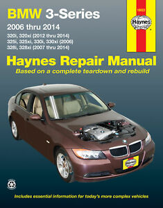 BMW 3-Series 320i & 320xi (2012-2014), 325i, 325xi, 330i & 330xi (2006) & 328i &