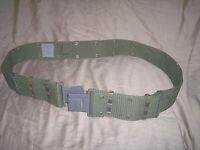 Genuine Military Web Belt Utility Belt Adjustable Tactical Belt Army Belt Green