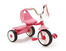 Tricycle Trike Bike Kid Toddler Folding Wheel Toy Ride Portable Storage Bin Pink
