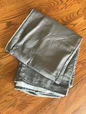 Euc 100% Coton Twin Bed Skirt, Gray