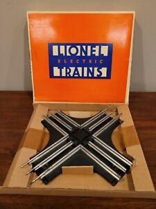Lionel 6-5540 O Gauge 90 Degree Crossover Original Box