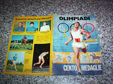 ALBUM figurine OLIMPIADI IL MONELLO 1972 COMPLETO OTTIMO TIPO PANINI EDIS LAMPO