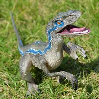 Jurassic Blue Raptor Dinosaur Velociraptor Toy Educational Model Birthday Gift