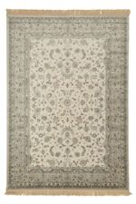 ROYAL PALACE - 14295 cream Highest Quality Art Silk Traditional Rugs