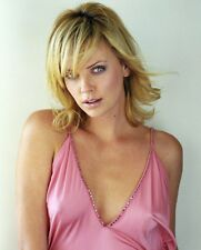 CHARLIZE THERON 8x10 PHOTO nipples boobs photograph