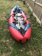 Sevylor Tahiti Plus 2+1 Man Canadian Canoe Inflatable Sea Kayak
