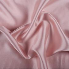 Carnation Silk/Wool Gab, Fabric By The Yard