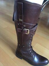 TOMMY HILFIGER bottes cavalière en cuir marron pointure 36 b48af2c4ae