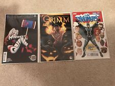 Harley Quinn #30, Grimm #1, The Inhumans #1 Bam Box exclusives NM COA