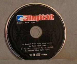 NO CASE CD: LIMP BIZKIT BEHIND BLUE EYES CD SINGLE 2003 INTERSCOPE NU METAL