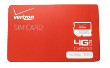 Verizon Wireless 4G Lte Prepaid Micro Sim Card