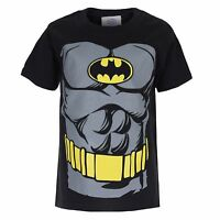 DC Comics BATMAN TORSO Boys Kids T-Shirt - 3-12 YEARS