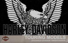2018 Harley-Davidson Touring Models Owners Manual -Flhr Flhx Flhtk Flhtcu