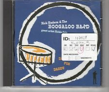 (HH610) Rick Hudson & The Boogaloo Band, Dance For Daddy - 2002 CD