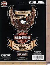 Harley Davidson Motorcycle Eagle Logo Emblem Decal Car Truck Window Sticker 9917