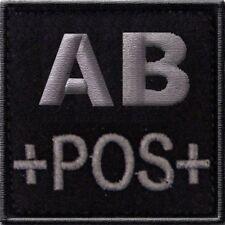 ECUSSON AB+ NOIR GROUPE SANGUIN AB POS POSITIF INSIGNE LS