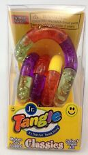 Tangle Jr Original Fidget Toy Orange Yellow Purple Neon Autism SPED Aspergers