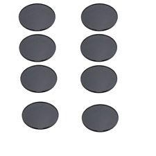 8 Pack 72mm Console Dashboard Adhesive Disk Base Plate for Suction Gps Mount