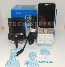 Nokia C5-00 - White (Unlocked) - Free P&P - GPS/ 3G/ Original Packaging -