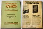 1968 January PHILIPPINE STUDIES Prehistory Of The Philippines BOOK Vol.15, No.1