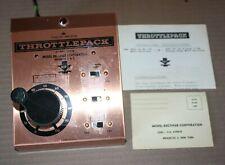 Vintage MRC Throttle Pack 500 N Gauge Train Power Supply Untested
