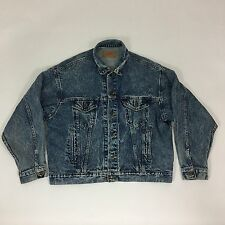 Levi's Denim Jacket Men's Size XL Made In USA style #70507-0219