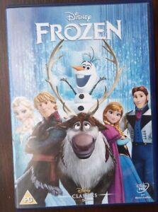 FROZEN: DISNEY CLASSIC DVD NUMBER 52 (CHRISTMAS, 2014)