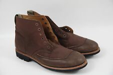 #148 Timberland Boot Company Men's Mudlark Lace-Up Boots -Brown Size 9 msrp $325