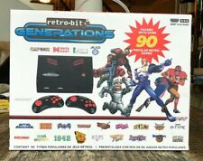 retro-bit GENERATIONS Video Game Console Plug and Play 90+ Retro Games BRAND NEW