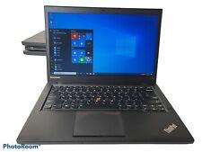 "Lenovo Thinkpad T440s 14"" i5-4300U 1.90GHz 8GB Ram 750GB HDD Win 10 Pro #3"
