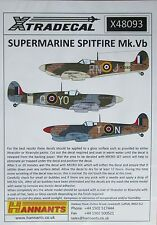 Xtradecal 1/48 X48093 Supermarine Spitfire Mk Vb decal set
