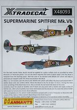 Xtradecal 1/48 X48093 supermarine spitfire mk vb decal set