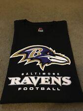 NFL Baltimore Ravens Signature Logo T Shirt XL Joe Flacco, Ray Lewis