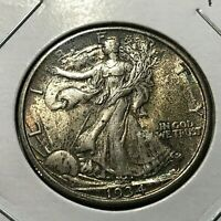 1934 WALKING LIBERTY HALF DOLLAR NEAR UNCIRCULATED  COIN