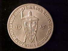 RHINELAND 3 REICHSMARK 1925A