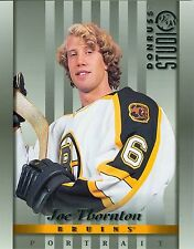 Joe Thornton 1997-98 Donruss Studio '97 Portrait Card Boston Bruins #22 NM 8x10