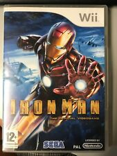 NINTENDO WII IRON MAN PAL UK COMPLETO