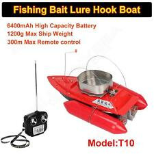 T10 Remote Control RC Bait Fishing Boat Electric Fish Finder Lure Carrier Red Q6