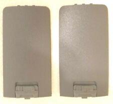 Motorola Oem Qty 2 Dtr Gray Battery Door Nntn 6389a For Dtr410 Dtr550 Dtr650