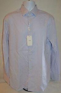ARMANI COLLEZIONI Mans Dress Shirt NEW Size 41 Large Neck 16 Regular Retail $245