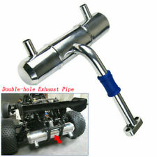 NEW Aluminium Exhaust pipe for HPI rovan Baja 5B 5T King Motor 1:5 RC Car
