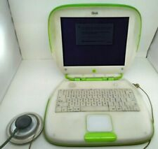 Apple iBook Key Lime Green Clamshell 2000 Classic Collectable Works parts/repair