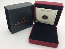 2008 Royal Canadian Mint $200 Gold Coin Empty Red Leather Box & COA