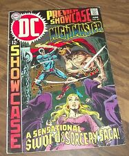 Dc Showcase Comic #83 In Vg+ 1969 (Nightmaster)