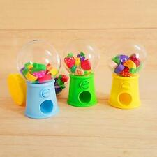 Lovely Hot Mini Candy Dispenser Gumball Vending Machine Coin Box Kid Baby Toy