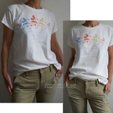 Junk Food Mickey OMBRE Destroyed Body & Edge 100% Trunk Cotton Boyfriend t-shirt