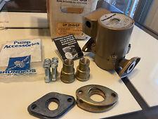 Grundfos UP125-64SF Pump, 1/12TH HP 115V High Head 3100 R/ MIN  Open Box