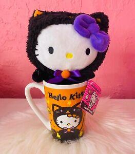 Hello Kitty Halloween Mug And Black Plush CVS Exclusive 2021