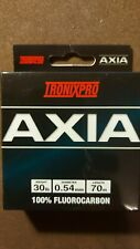 Tronixpro Axia 100% Fluorocarbon in 70 Meters x 30lb - Clear