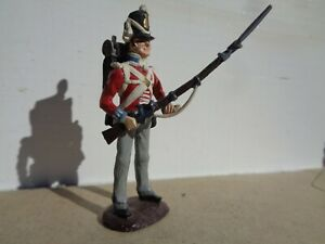 Tradition of London Stadden, Napoleonic British foot infantry soldier lead 54mm